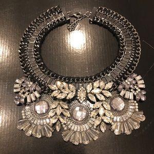 Jewelry - Bling Rhinestone Statement Necklace